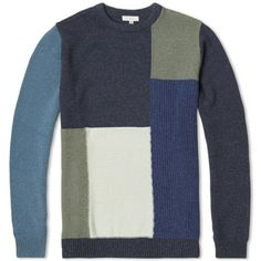 Beauty & Youth Patchwork Crew Neck Knit  £139