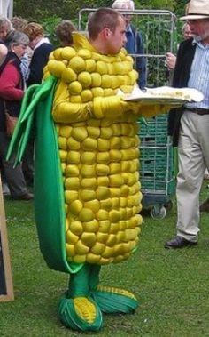 corn on cob costume images