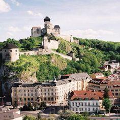 Trenčiansky hrad / Trenčín Castle, Slovakia. Stayed at the hotel at the bottom of the hill.