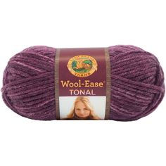 Lion Brand® Wool-Ease® Tonal Yarn Plum