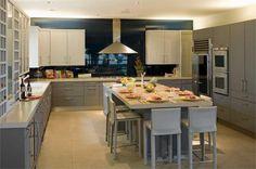 Open Contemporary Kitchen by Susan Jay Freeman on HomePortfolio