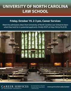 Meet the admissions dean from University of North Carolina Law School to learn what they look for in potential applicants.
