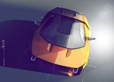 Lamborghini GT on Behance