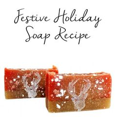 This festive Holiday Frosted Cranberry Coconut Milk Soap Recipe makes for lovely homemade Christmas gifts! Plus it's made with moisturizing coconut milk.