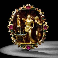 A rare 16th century gold jewel. Photo courtesy Bonhams