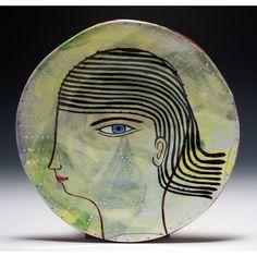 Jenny Mendes Assiette à Dessert en céramique - Frankie