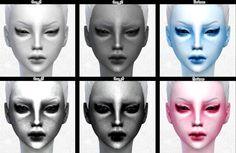 Decay Clown Sims: Skin Tatoos • Sims 4 Downloads