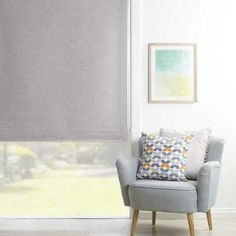 gummerson cloud roller blind silver 150 x 210 cm