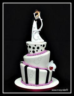Wedding cake by Crazy Cake