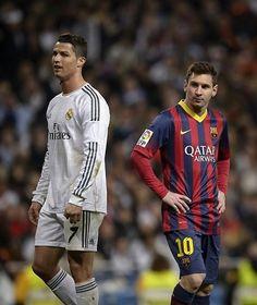 CR7 + Messi