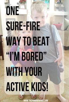 1 Sure FIre Way to Beat Bordom with YOUR Active Kids! LOVE this idea!!! #kids #summer #spon #letsbounce #littletikes #birthday #fun