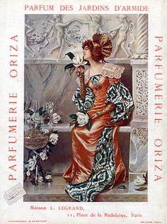 Legrand (Perfumes) 1909 (http://hprints.com/Legrand_Perfumes_1909_Oriza_Parfum_des_Jardins_d_Armide_Cesare_Saccaggi-38030.html)