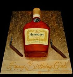 hennessy cakes - Google Search