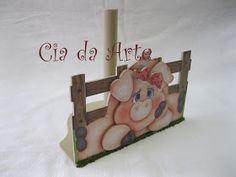 Plaquinha  Porta Papel Toalha  Porta guardanapo  Kit de porquinhos, recorte em mdf e decoupage, acabamento com verniz automotivo.