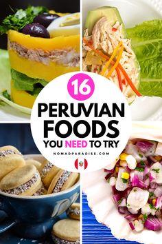 Peruvian Dishes, Peruvian Cuisine, Peruvian Recipes, Goat Milk Recipes, Meal Recipes, Cooking Recipes, International Food Day, Buffalo Chicken Recipes, Around The World Food