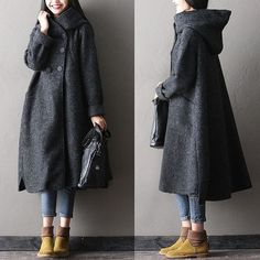 Women wool coat @buykud1