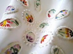 Windows into art. contemporary embroidery - Google Search