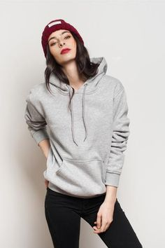 Lovely New Women Hoodies Sweatshirt Ladies Hooded Tops Jumper Pullover Firm In Structure Women's Clothing