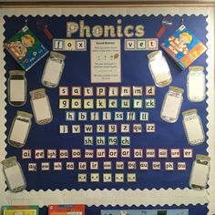 Phonics working wall Year 1 Classroom, Early Years Classroom, Classroom Ideas, Reading Den, Working Wall, Creative Area, Block Play, Writing Table, Eyfs