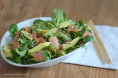 Avocado Lachs Salat – Flavoured with Love
