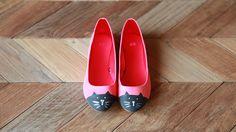 Cute DIY cat shoes