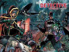 BATMAN DETECTIVE COMICS #1000 2010 JIM LEE WRAPAROUND MAIN 1ST PRINT NM 2019 DC