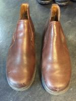 Mens Red Wing Shoes Brown leather Ankle Boots Size 10