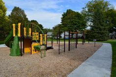 Beautiful new playground installed at Teichmiller Park! www.ci.oshkosh.wi.us