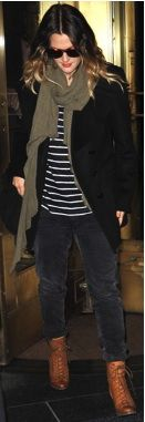 Drew Barrymore's Casual Cool. dvchic
