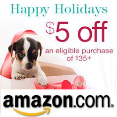 Amazon Holiday 5$ off 35$ HOT DEAL!