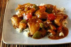 Slow Cooker Sweet and Sour Chicken - Diana Rattray