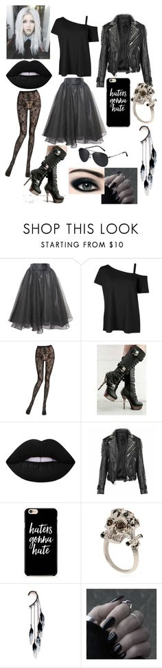 """""""Untitled #146"""" by savedbybands ❤ liked on Polyvore featuring Relaxfeel, Emilio Cavallini, Demonia, Lime Crime, Burberry, Alexander McQueen and Anni Jürgenson"""