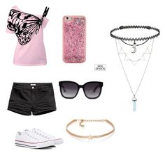 """Untitled #45"" by pisy88 on Polyvore featuring Converse, ban.do, Gucci, Kenneth Jay Lane and BERRICLE"