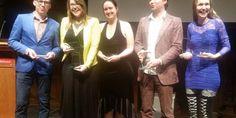 Auke Hulst en Lisette Jonkman hebben de Harland Awards gewonnen.