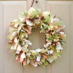Baby Wreath, Hospital Door Wreath, Baby Shower Decor, Nursery Wreath, Newborn Baby Room Decoration, New Mom Gift by AWorkofHeartSA, $70.00