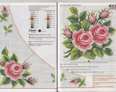 gráfico-para-toalha-com-rosas-7-500x400 gráfico para toalha com rosas 7