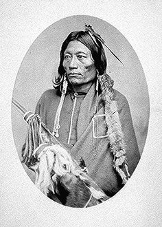 Pacer (Peso, Essa-queta), a Kiowa-Apache chief. Photographed by William S. Soule, 1868-74.