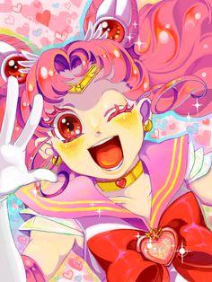 "girlsbydaylight: "" Sailor Chibi Moon """