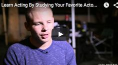 Learn #Acting By Studying Your Favorite #Actors by #JonathanLipnicki From LIMELIGHT #Movie    #acting #actorslife #losangeles #audition   #film #acting #actress #actresses #actingtips #casting #auditions #movies   #jerrymaguire #setlife