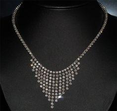 15.00 Karat Diamantcollier aus 585er Weißgold