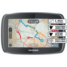 awesome TomTom GO 6000 EU Sat Nav with Full European Lifetime Maps, Lifetime Traffic Updates, Always Connected and Interactive Screen Includes Click & Mount Car Charger and USB Cable European Map, Cheap Hosting, Tempo Real, Sat Nav, Africa Map, Coding, Phone, Dear Santa, Everything