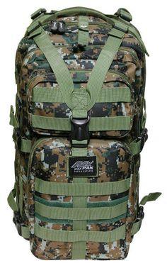 4c183965074 MEDIUM TRANSPORT PACK BROWN DIGITAL Backpack Free Ship MOLLE Tactical  Hunting  NEXPAK  Backpack School