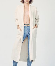 Ryan Roche - Organic Cotton Robe with Fringe | available at Lust Covet Desire