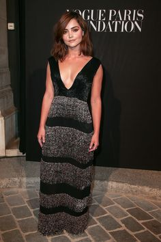 Jenna Coleman au gala de la Vogue Paris Foundation