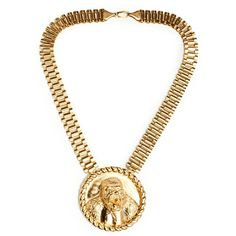 trilla the rilla necklace (410 BRL) ❤ liked on Polyvore featuring jewelry, necklaces, gold plated jewellery, gold plated chain necklace, chains jewelry, chain necklaces and gold plated necklace