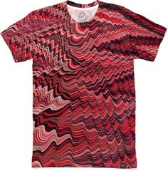 Accidental Jersey Ripple Men's Classic T-Shirt by ChenaRiverMarblers | Nuvango