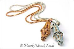 The Chatelaine's Heirloom by Manek-Manek Beads - Jewelry | Kits | Beads | Patterns