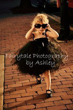 Breakfast at Tiffany's Black Tutu Dress For Baby or Toddler. $28.00, via Etsy.