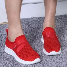 Mesh Rhinestone Women's Shoes 2021 New Lightweight Casual Shoes Women Fashion Breathable Womens Bottom Platform Sneakers Loafers Platform Sneakers, Shoes Sneakers, Women's Shoes, Cheap Fashion, Womens Fashion, Sneaker Outfits Women, Sports Shoes, Types Of Shoes, Shoe Brands