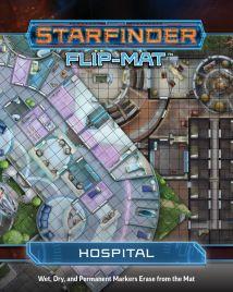 Starfinder Flip-Mat Hospital, Paizo, RPG, space, sci-fi